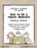 """Harcourt Trophies """"Nature Detective"""" Literacy Packet"""