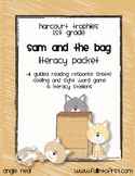 Harcourt Trophies Sam and the Bag Literacy Packet