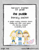 """Harcourt Trophies """"The Puddle"""" Literacy Packet"""