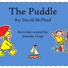 Harcourt Trophies - The Puddle Story activities