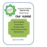 Harcourt Trophies Theme 3 Just For You Printables and Activities