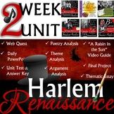 Harlem Renaissance Curriculum Unit High School Style!