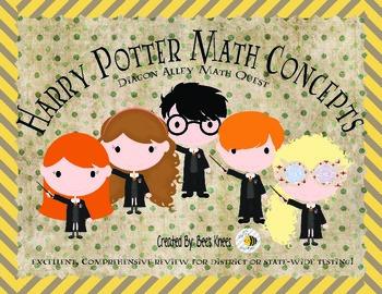 Harry Potter Math Concepts Review