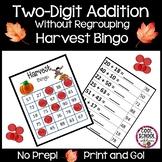 Harvest Bingo - Double Digit Addition  {Print & Go!} - (Co