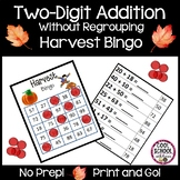 Harvest Bingo - Double Digit Addition  {Print & Go!} - (Co