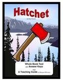 Hatchet     Whole Book Test
