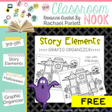 Haunted House Story Elements - Graphic Organizer to Use Wi