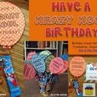 Birthday Balloon Student Gift Template FREEBIE