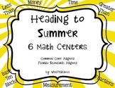 Heading to Summer Math Centers