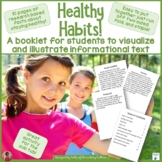 Healthy Habits Booklet for Illustrating