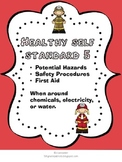 Healthy Self: Safety hazards (chemical, electricity, water)