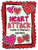 Heart Attack Math & Literacy Centers