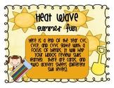 Heat Wave!!!!!  A cvc, cvce, and cvvc game with a focus on