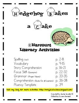 Hedgehog Bakes a Cake (Harcourt)