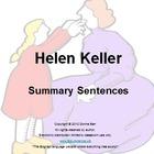 Helen Keller by Margaret Davidson Book Summary Sentences