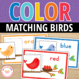 Hello Color!  Bird Color Match
