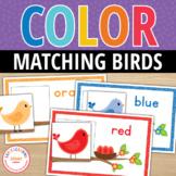 Hello Color!  Bird Color Match