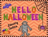 """Hello Halloween"" Literacy Centers"