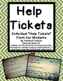 """Help Tickets"" for Students That Need It!"