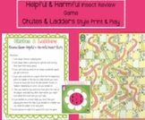 Helpful and Harmful Insect Review: Chutes and Ladders-styl