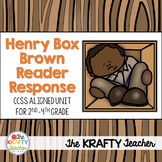 Henry's Freedom Box Reader Response CCSS Aligned - Black H