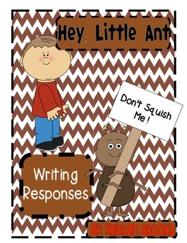 Hey, Little Ant! (Writing Activities)