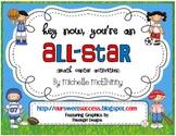 Hey Now, You're An All-Star {Math Center Activities-OA}