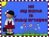 Hi! My Name is Ruby Bridges
