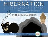 Hibernation Station {Math and Literacy Centers}