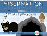 Hibernation Station {Math and Literacy Centers}