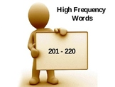 High Frequency Sight Words Set #5- FREE!