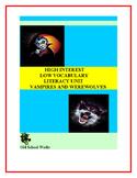 High Interest/Low Vocabulary  Vampires vs. Werewolves Lite