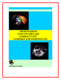 High Interest/Low Vocabulary  Vampires vs. Werewolves Lite