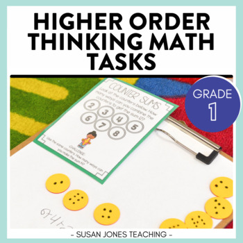 Higher Order Thinking Math Tasks - First Grade