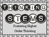 Higher Order Thinking Posters
