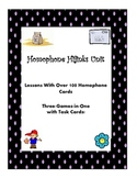 Homophones--An Interactive Unit With Task Cards