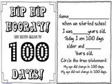 Hip Hip Hooray 100 Days