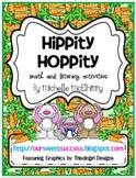 Hippity Hoppity {Common Core Math and Literacy}