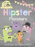 Hipster Monster Decor