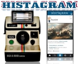 Instagram Histagram Timeline, Mini Book, Worksheet, & Goog