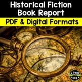 Historical Fiction Reading Assignment Book Report