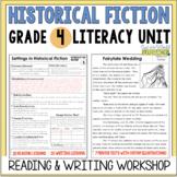 Historical Fiction Reading & Writing Unit Grade 4: 40 Deta