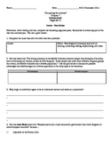 """History Alive Chapter 7 """"Comparing the Colonies"""" Organizer"""