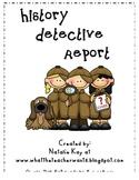 History Detective Report