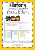 History Scope and Sequence Foundation