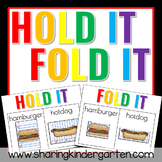 Hold It! Fold It! FREEBIE