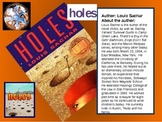 Holes Novel PreReading Power Point