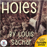 Holes Unit Novel Study