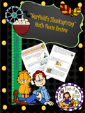 Holiday Book/Movie Middle School Math Review