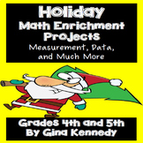 Holiday Math Enrichment Projects